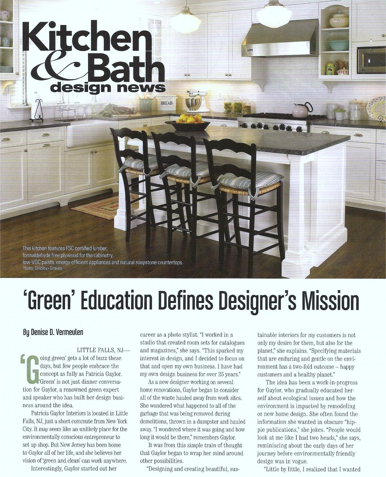 Patricia gaylor interiors magazine articles for Interior design articles
